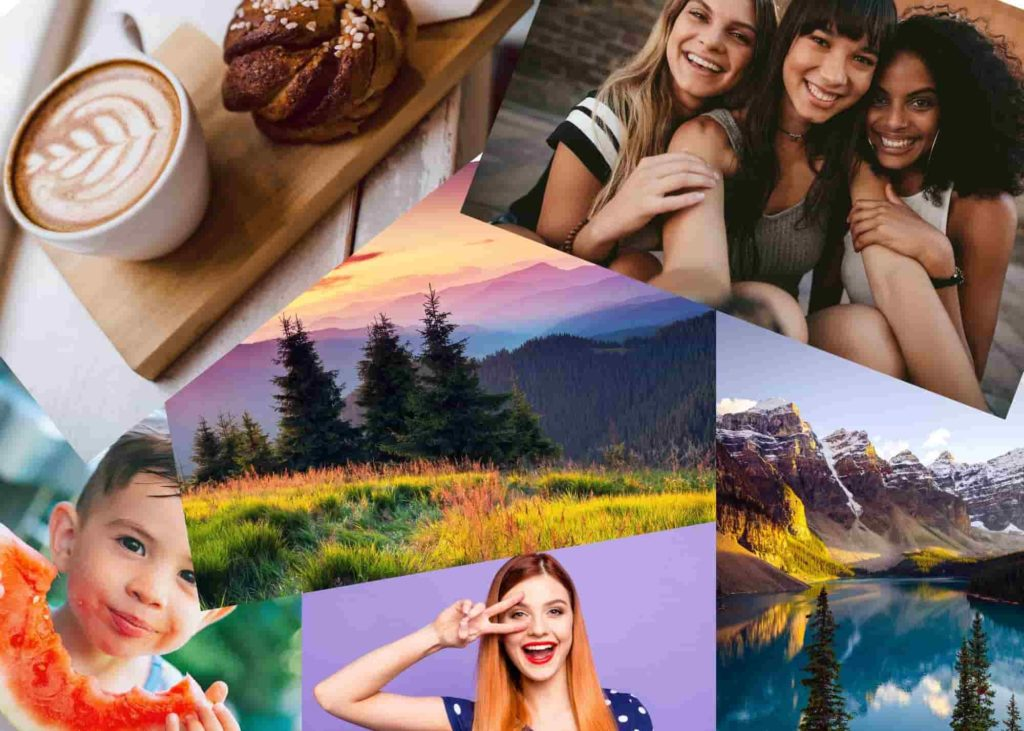 stock photos with Canva Pro
