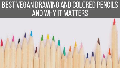 vegan colored pencils and drawing pencils