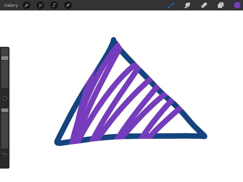 color in the lines with Procreate Clipping Mask
