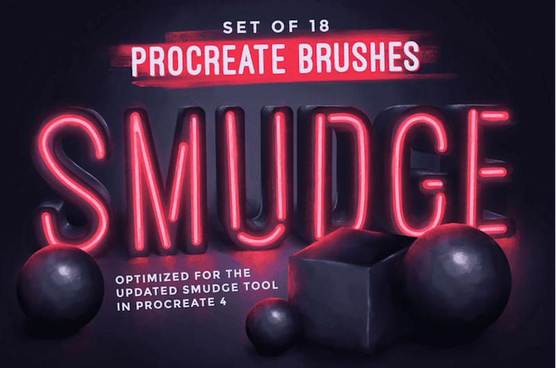 procreate smudge pack