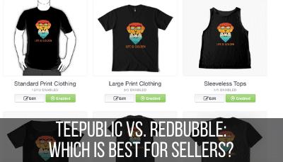 teepublic vs. redbubble