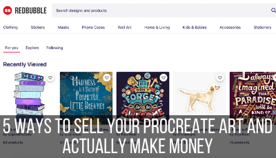 selling procreate art
