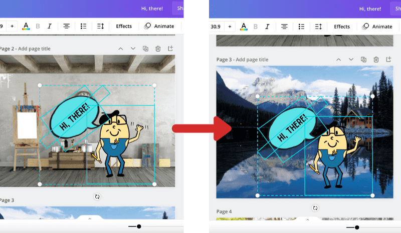 copying from one canva canvas to another