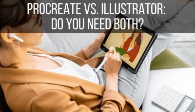 procreate vs illustrator