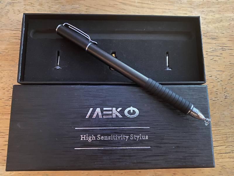 MEKO 2-in-1 Stylus Precision Disc Styli Touch Screen Pen