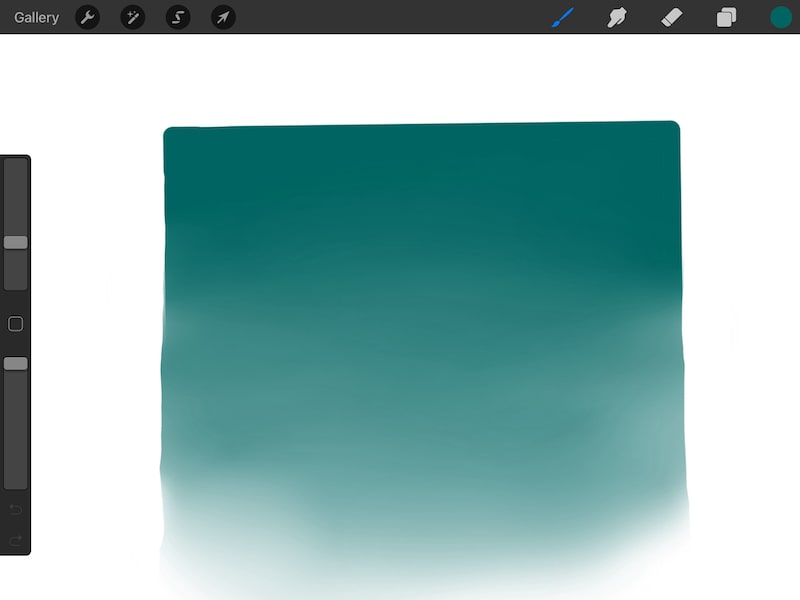 how to fade in Procreate