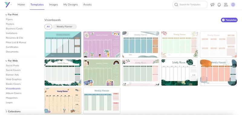 desygner calendar templates